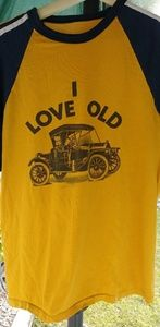 I love old hot rods 70's tee